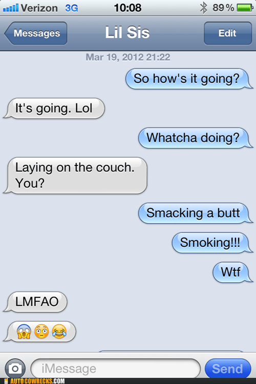 auto correct sex smaking smoking