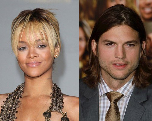 ashton kutcher,rihanna,rumors