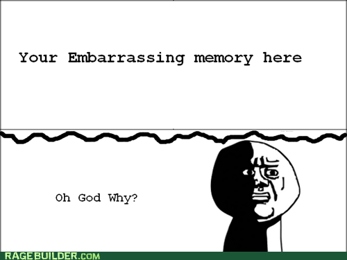embarrassing memory oh god why Rage Comics - 6040559360