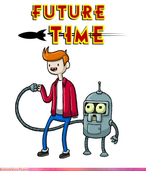 adventure time animation art awesome funny futurama TV - 6040752896