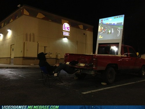 awesome,IRL,jealous,Mario Kart,taco bell