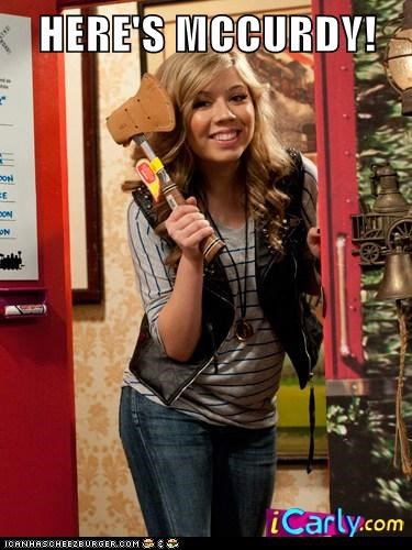 HERE'S MCCURDY!