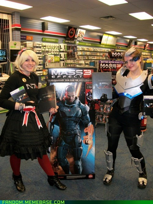 cosplay,Garrus,mass effect,release,shepard,video games