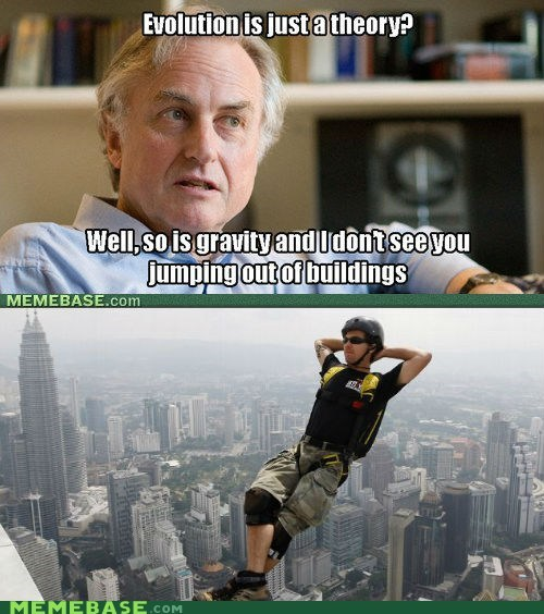 buildings Challenge Accepted Gravity richard dawkins theories - 6041866752