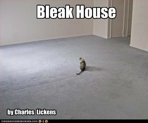 bleak,charles dickens,house,pun,similar sounding