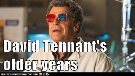3-d glasses David Tennant Fringe John Noble older Walter Bishop