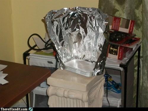 aluminum router signal tin foil wifi - 6042993920