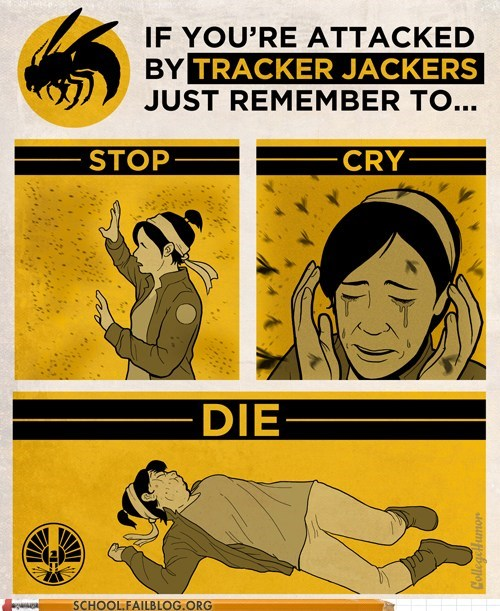 hunger games stop cry die tracker jackers - 6043993088