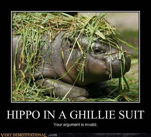 baby ghillie suit hippo Pure Awesome - 6044273920