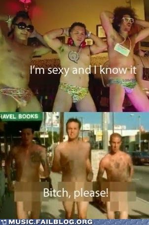blink 182,lmfao,sexy and i know it,whats-my-age-again