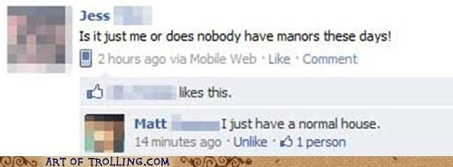 facebook,manners,manors,spelling