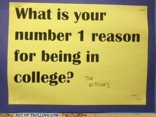 college,IRL,ladies,reasons