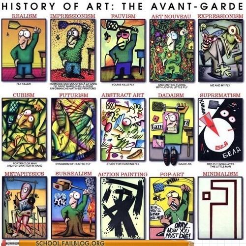art history avant garde class is in session - 6044779520