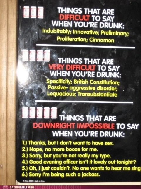 bar dating fails difficult drinking sign - 6044786432