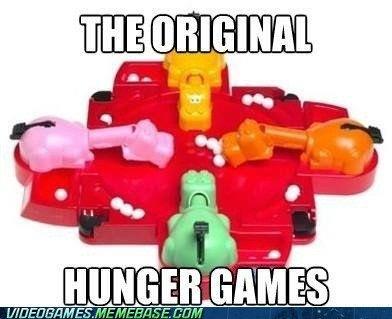 april fools board game hungry hungry hippos hunger games the internets - 6045068288
