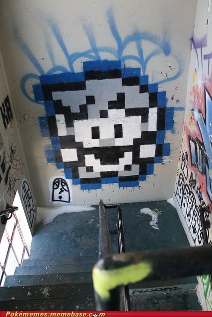 blah blah blah red ash blah blah blah blue gary graffiti IRL pixels - 6045074176