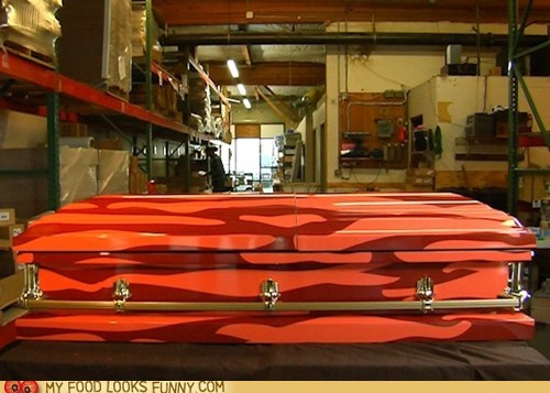 bacon casket coffin paint pattern - 6045131008