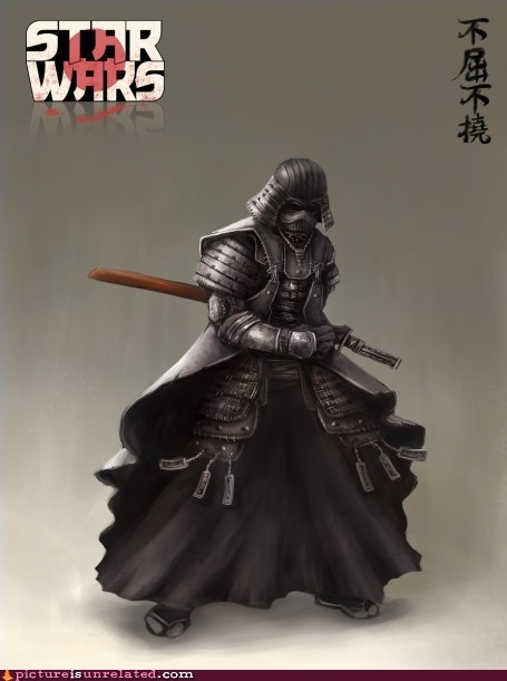 best of week,darth vader,samurai,Starwars,wtf