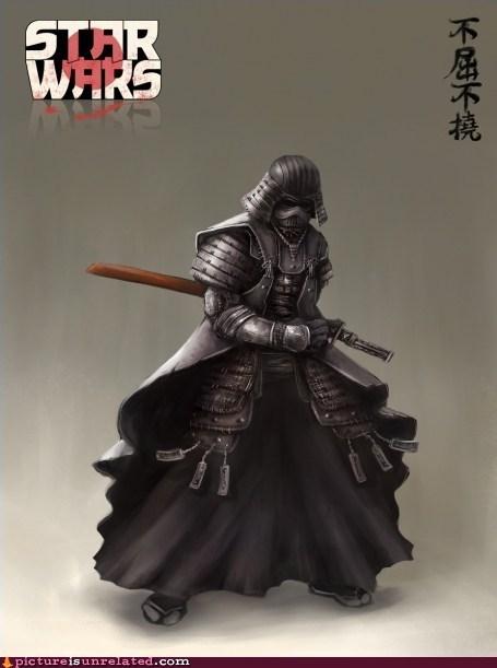 best of week darth vader samurai Starwars wtf - 6045256704
