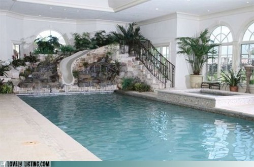 hot tub,indoor,pool,slide