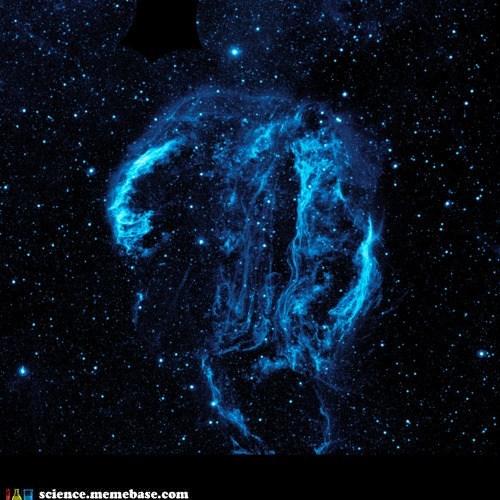 Astronomy,cyguns loop nebula,gas,stars