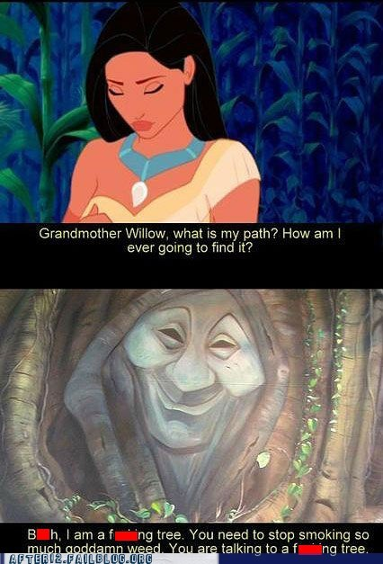 disney,drugs,high,pocahontas,tree