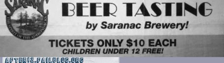 advertisement bar beer children news underage drinking - 6045378304