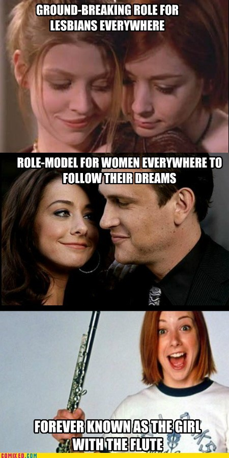 alyson hannigan,american pie,band camp,HIMYM,Memes,the internets