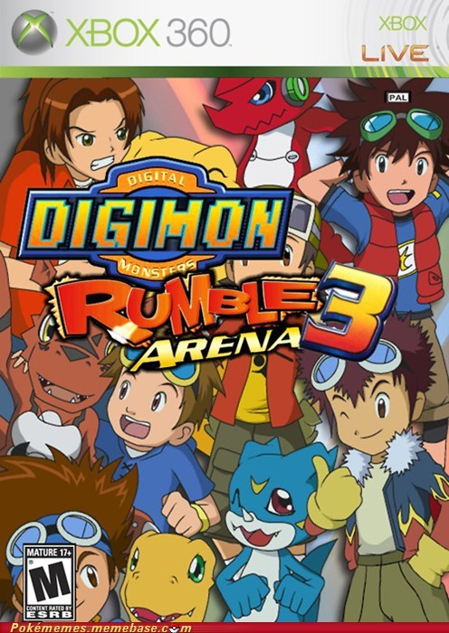 april fools digimon rumble arena the internets video games - 6045896704
