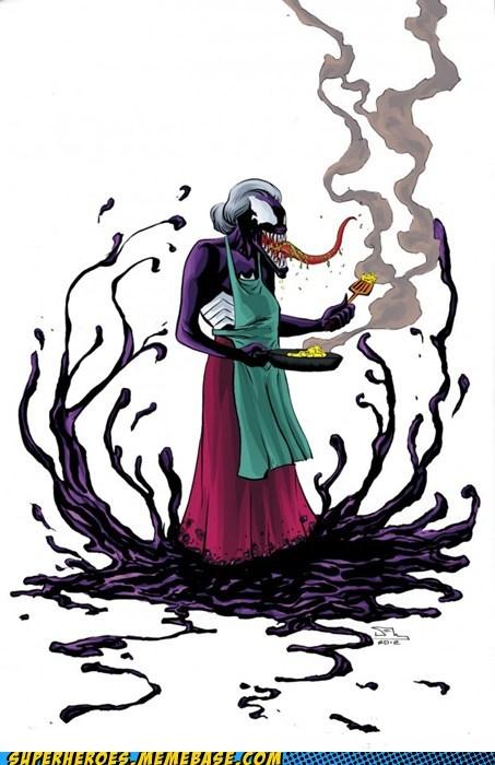Aunt May Saturday Morning Cartoons Spider-Man Venom - 6046994432