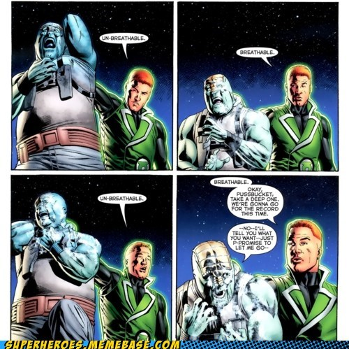 air,guy gardner,Straight off the Page,torture