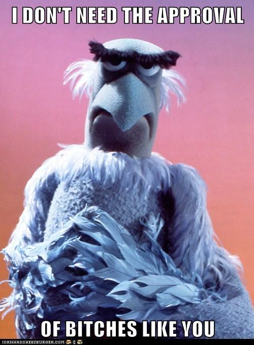 funny Hall of Fame Sam the Eagle the muppets TV - 6047553536