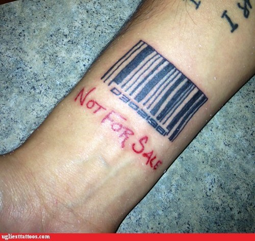 bar code confusing much not for sale - 6047679488