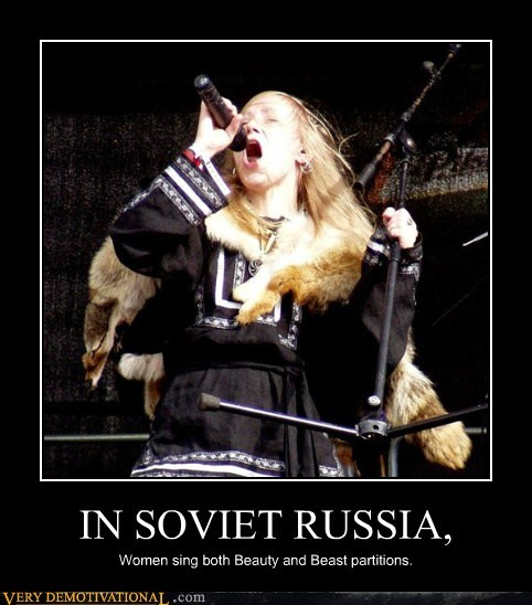 beast,beauty,hilarious,Soviet Russia