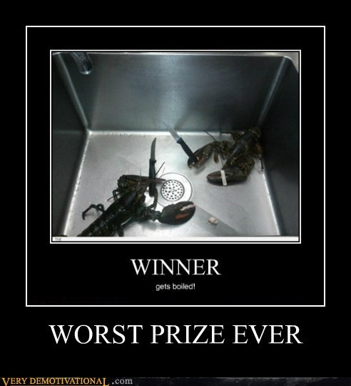 eaten hilarious lobster prize - 6048113408