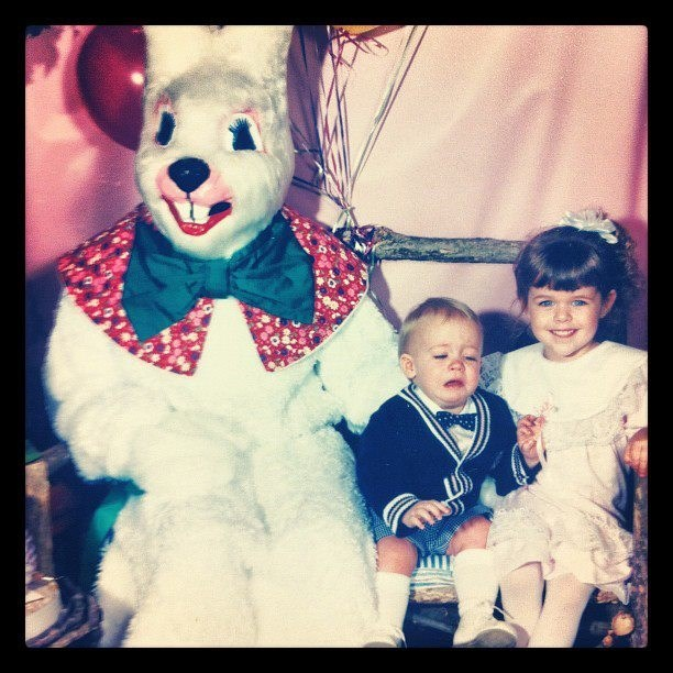crying,g rated,scary,siblings,sketchy bunnies,stranger danger,toddler