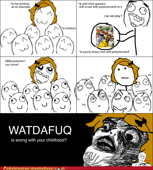 childhood Pokémon rage comic Rage Comics skylander - 6048445952
