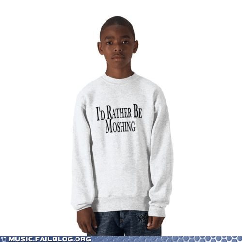 child kid mosh moshing parenting sweatshirt - 6048867840