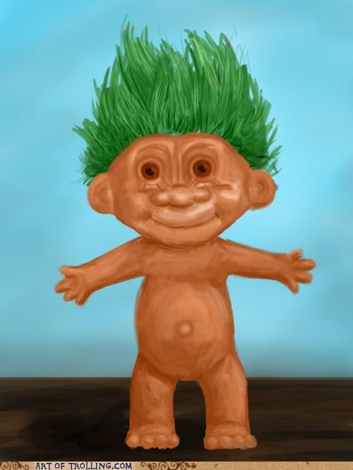 april fools art Troll Doll - 6049299456