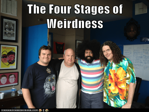 actor,celeb,jack black,Kyle Gass,Music,Weird Al Yankovic