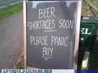beer,panic buy,shortage