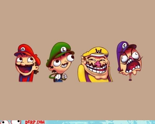 best of week,derp,mario,rage faces