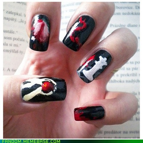 books,It Came From the Interwebz,nails,twilight
