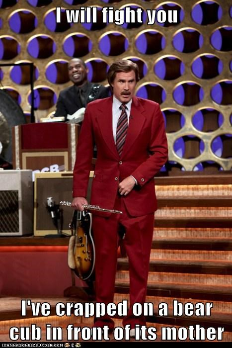 actor,celeb,funny,Ron Burgundy,Will Ferrell
