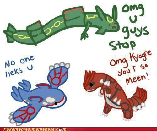 3rd gen,best of week,groudon,kyogre,Memes,rayquaza