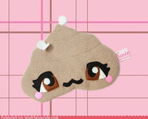 eyes face flies poop sleep mask smile - 6049492736
