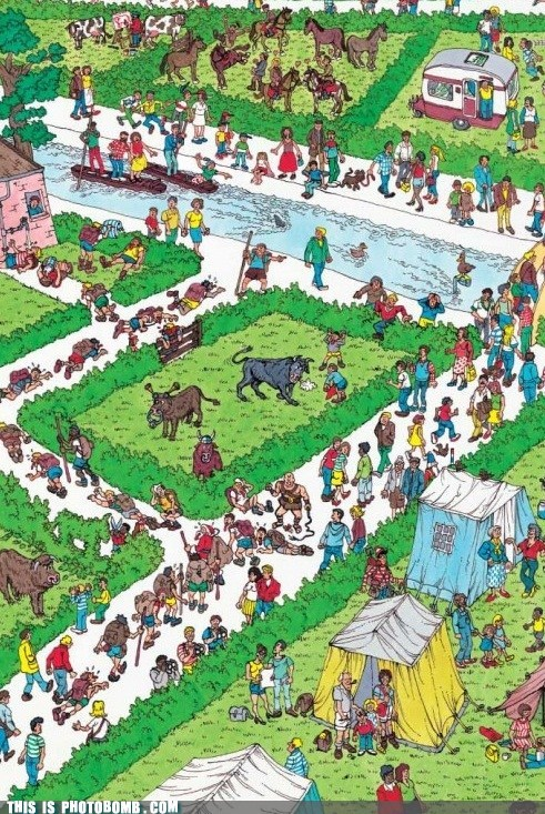 april fools,wheres waldo