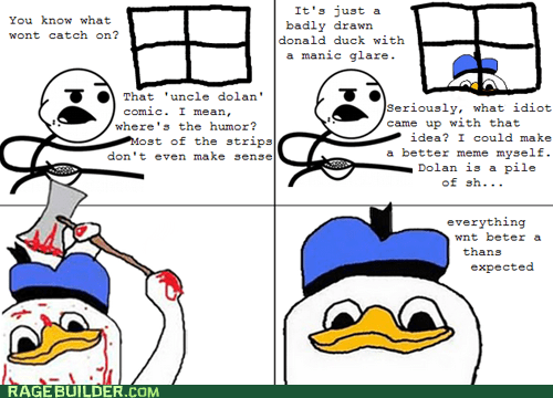 april fools dolan and friends dolan duck Rage Comics - 6050004992