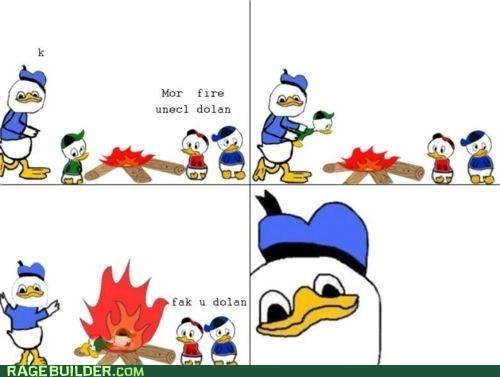 april fools dolan and friends dolan duck Rage Comics