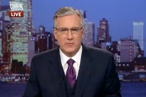 Current TV Fires Olbermann of the Day
